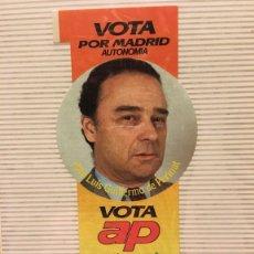 Pegatinas de colección: PEGATINA POLITICA AÑOS 80 VOTA AP. Lote 113024447
