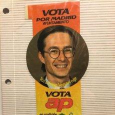 Pegatinas de colección: PEGATINA POLITICA AÑOS 80 VOTA AP. Lote 113024583