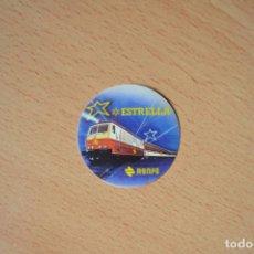 Pegatinas de colección: PEGATINA PEGATINAS TREN RENFE ESTRELLA. Lote 113900867