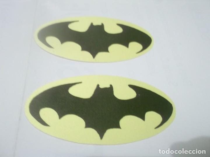 Pegatinas De Colores En Tela Simbolo De Batman Buy Old And