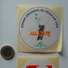 Pegatinas de colección: LOTE ANTIGUAS PEGATINAS ANTENA3 Y DEMÁS.. Lote 116123908