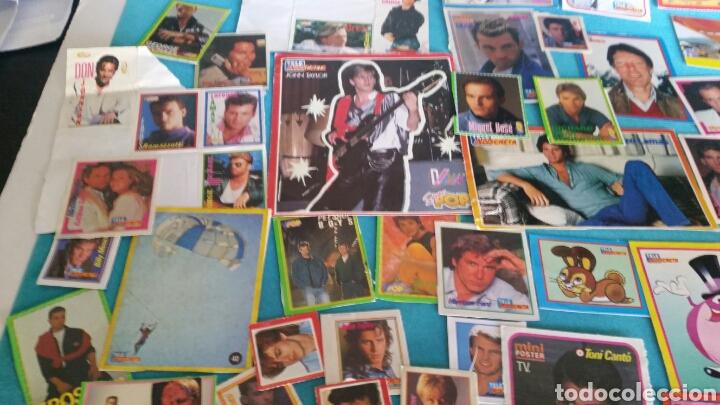Pegatinas de colección: LOTE PEGATINAS SUPER POP TELE INDISCRETA CANTANTES Y ACTORES - Foto 3 - 246064550