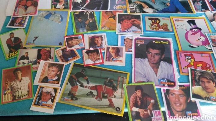 Pegatinas de colección: LOTE PEGATINAS SUPER POP TELE INDISCRETA CANTANTES Y ACTORES - Foto 4 - 246064550