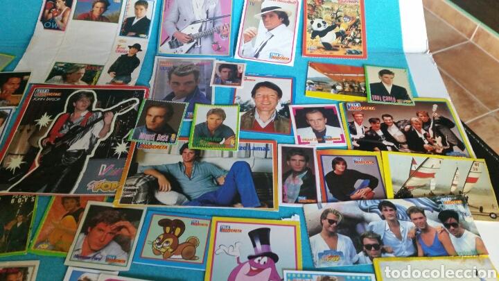 Pegatinas de colección: LOTE PEGATINAS SUPER POP TELE INDISCRETA CANTANTES Y ACTORES - Foto 6 - 246064550