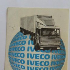 Autocollants de collection: PEGATINA IVECO. Lote 117453835