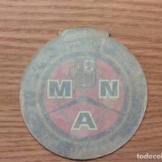 Pegatinas de colección: PEGATINA MUTUA NACIONAL AUTOMOVILISTA. Lote 117533395