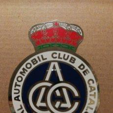 Pegatinas de colección: ANTIGUA PEGATINA STICKER REIAL AUTOMOBIL CLUB DE CATALUNYA- RACC. 8'5X6'5CM.. Lote 118749164