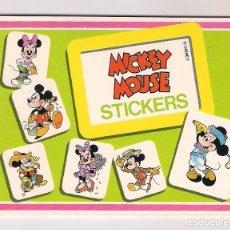Pegatinas de colección: STICKERS MICKEY MOUSE: LIBRITO DISNEY AÑOS 70. MADE IN ITALY. Lote 119294531
