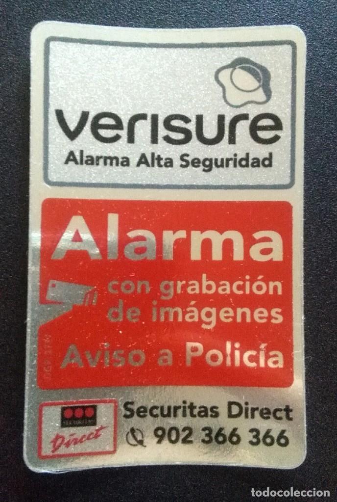 Loe 5 Adhesivos Pegatinas Securitas Veris Sold