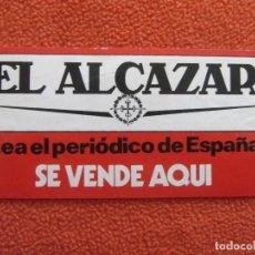 Pegatinas de colección: PEGATINA ADHESIVO EL ALCAZAR.. Lote 119489611