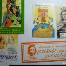 Pegatinas de colección: LOTE PEGATINAS RELIGIOSAS. Lote 120912579