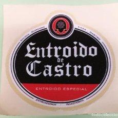 Pegatinas de colección: PEGATINA CARNAVAL ENTROIDO DE CASTRO ESPECIAL GALICIA OURENSE LAZA CASTRO PELIQUEIROS. Lote 120973719
