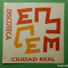 Pegatinas de colección: PEGATINA - ADHESIVO - STICKER - EL CEM - CIUDAD REAL - PUBS Y DISCOTECAS - 7 X 7 CM. Lote 122717727