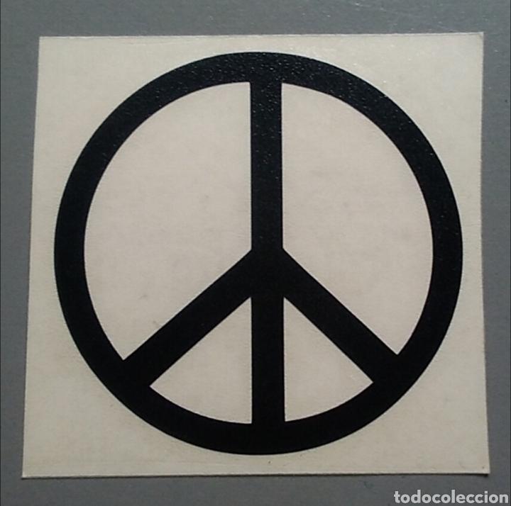 pegatina vinilo símbolo de la paz 7 x 7 cm buy old and