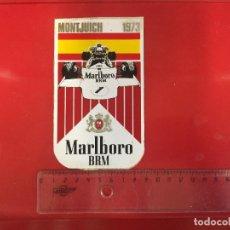 Pegatinas de colección: ADHESIVO VINTAGE,ORIGINAL DE EPOCA MONTJUICH 1972. Lote 122944927
