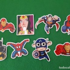 Pegatinas de colección: PEGATINAS / STICKER MARVEL IMPERMEABLE PERSONALIZAR LAPTOP, MONOPATIN, MOVIL, FUNDA, PORTATIL, PC. Lote 124526791