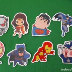 Pegatinas de colección: PEGATINAS / STICKER MARVEL IMPERMEABLE PERSONALIZAR LAPTOP, MONOPATIN, MOVIL, FUNDA, PORTATIL, PC. Lote 124626727
