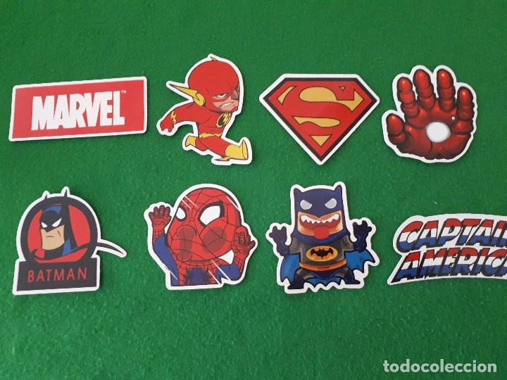 PEGATINAS / STICKER MARVEL IMPERMEABLE PERSONALIZAR LAPTOP, MONOPATIN, MOVIL, FUNDA, PORTATIL, PC (Coleccionismos - Pegatinas)