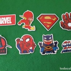Pegatinas de colección: PEGATINAS / STICKER MARVEL IMPERMEABLE PERSONALIZAR LAPTOP, MONOPATIN, MOVIL, FUNDA, PORTATIL, PC. Lote 124627683