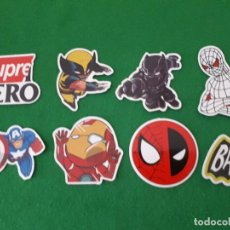 Pegatinas de colección: PEGATINAS / STICKER MARVEL IMPERMEABLE PERSONALIZAR LAPTOP, MONOPATIN, MOVIL, FUNDA, PORTATIL, PC. Lote 124627951