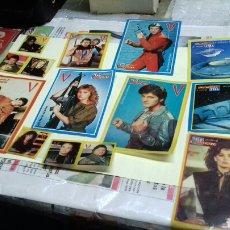 Pegatinas de colección: LOTE DE PEGATINAS DE LOS 80. RECICLADAS.. Lote 124929670