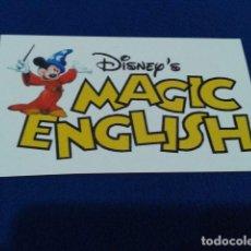 Pegatinas de colección: PEGATINAS DISNEY´S MAGIC ENGLISH NUEVA. Lote 126067091