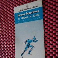 Pegatinas de colección: 9-PEGATINA JUEGOS DEPORTIVOS PRINCIPADO DE ASTURIAS 87/88, 13 X 6 CM. Lote 126101655