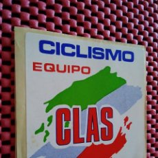 Pegatinas de colección: 13-PEGATINA CICLISMO EQUIPO CLAS, 8 X 8 CM. Lote 126170995