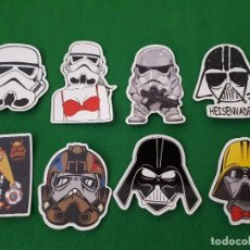 Pegatinas de colección: PEGATINAS / STICKER STAR WARS IMPERMEABLE PERSONALIZAR LAPTOP, MONOPATIN, MOVIL, FUNDA, PORTATIL, PC. Lote 126467075