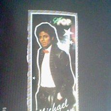 Pegatinas de colección: MICHAEL JACKSON REVISTA SUPER POP STICKER PEGATINA ADHESIVO SIN PEGAR NUNCA. Lote 126546959