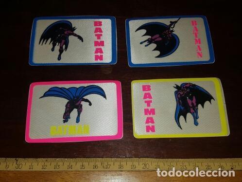 Pegatinas de colección: Lote adhesivos Batman de tela - 8.5 x 5.5 cm - En perfecto estado - Originales de los 80 - Foto 2 - 126675019