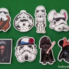 Pegatinas de colección: PEGATINAS / STICKER STAR WARS IMPERMEABLE PERSONALIZAR LAPTOP, MONOPATIN, MOVIL, FUNDA, PORTATIL, PC. Lote 126711383
