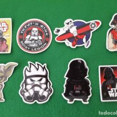 Pegatinas de colección: PEGATINAS / STICKER STAR WARS IMPERMEABLE PERSONALIZAR LAPTOP, MONOPATIN, MOVIL, FUNDA, PORTATIL, PC. Lote 126711527