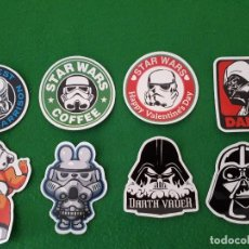 Pegatinas de colección: PEGATINAS / STICKER STAR WARS IMPERMEABLE PERSONALIZAR LAPTOP, MONOPATIN, MOVIL, FUNDA, PORTATIL, PC. Lote 126711667