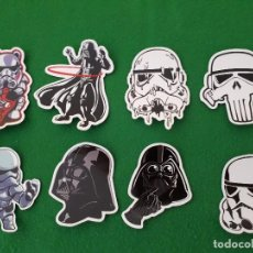 Pegatinas de colección: PEGATINAS / STICKER STAR WARS IMPERMEABLE PERSONALIZAR LAPTOP, MONOPATIN, MOVIL, FUNDA, PORTATIL, PC. Lote 126711763