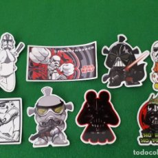 Pegatinas de colección: PEGATINAS / STICKER STAR WARS IMPERMEABLE PERSONALIZAR LAPTOP, MONOPATIN, MOVIL, FUNDA, PORTATIL, PC. Lote 126711907