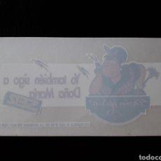 Pegatinas de colección: PEGATINA TEMA RADIO. PROMOCION PROGRAMA DE LA CADENA SER 'DOÑA MARÍA' (LUIS FIGUEROA FERRETI) 80-90. Lote 127175703