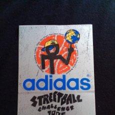 Pegatinas de colección: PEGATINA ADIDAS STREETBALL 1995. Lote 128635379