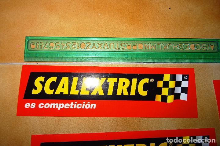 Pegatinas de colección: Lote de 15 pegatinas adhesivos nuevos de scalextric - Foto 2 - 130154099