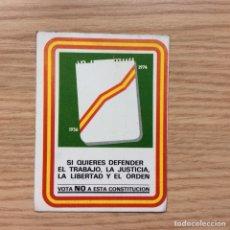 Pegatinas de colección: PEGATINA POLÍTICA. Lote 130247918