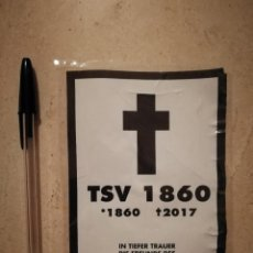 Pegatinas de colección: PEGATINA ORIGINAL - TSV 1860 2017 - ULTRAS - FUTBOL - ALEMANIA - FC BAYERN. Lote 130456714