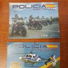 Pegatinas de colección: 2 PEGATINAS POLICÍA NACIONAL. Lote 130580498