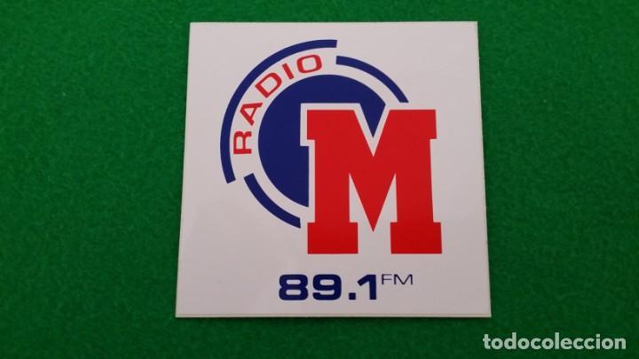 PEGATINA RADIO MARCA 89.1 FM (Coleccionismos - Pegatinas)
