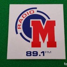 Pegatinas de colección: PEGATINA RADIO MARCA 89.1 FM. Lote 202384065