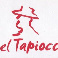 Autocollants de collection: ANTIGUA PEGATINA CORONEL TAPIOCA - 16 X 7 CM.. Lote 131627106