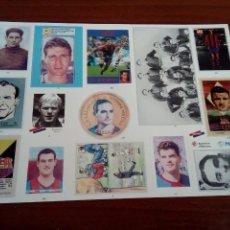 Pegatinas de colección: LÁMINA DE PEGATINAS DEL F. C. BARCELONA. Lote 133480994