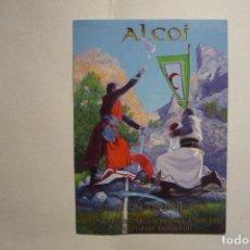 Pegatinas de colección: PEGATINA ALCOI FIESTAS MOROS Y CRISTIANOS 2005. Lote 133888578