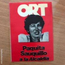 Pegatinas de colección: PEGATINA POLÍTICA TRANSICIÓN. Lote 135645191