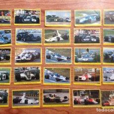Pegatinas de colección: LOTE DE 65 PEGATINAS CROMOS DE FÓRMULA 1. Lote 135756826