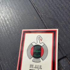 Pegatinas de colección: ANTIGUA PEGATINA PRIMERA LÍNEA FALANGE FUERZA NUEVA POLITICA COLECCIONISMO. Lote 135804582